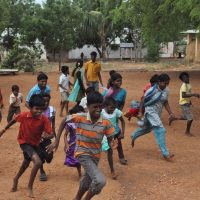 Amazing race in Cornerstone Orphanage