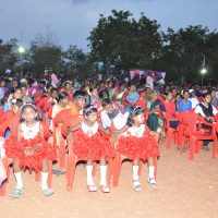 Children, guardians, and DKSHA Farmers, Villagers and friends attended the celebration