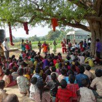 DKSHA Staff &vounteers visted village on New year