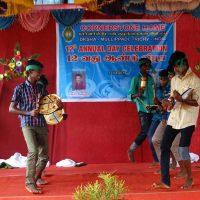 Parai Boys dancing with local drum set