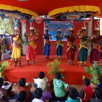 Senior girls Karagattam (dance)