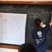 Teaching English through activities like Fill-in-the-blanks and Snake and Ladders(2)