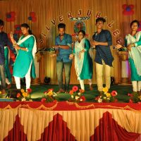 our children receiving Higher studies perform supper dance for a film song